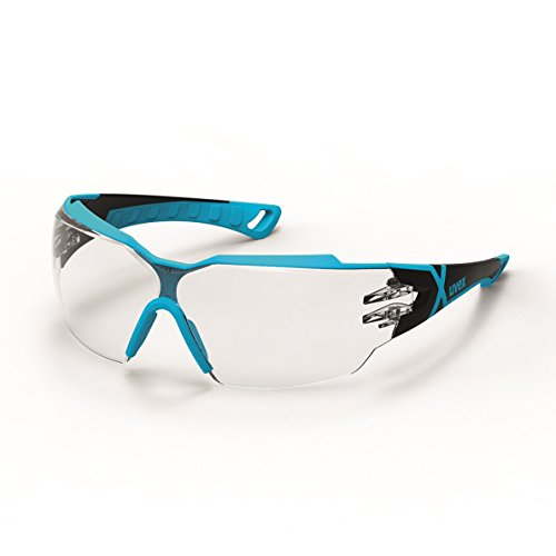 Uvex Sportbrille Schutzbrille Arbeitsbrille 9198 pheos cx2 mit X-Brand Geeignet für Kombination mit...