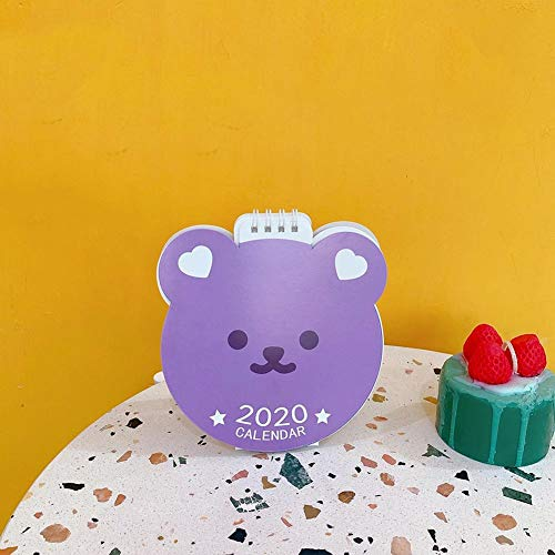 hook.s Neues Jahr-kreativer einfacher Kleiner Avocado-Tischkalender der frischen Blume, Tischplattendekorations-Kalender