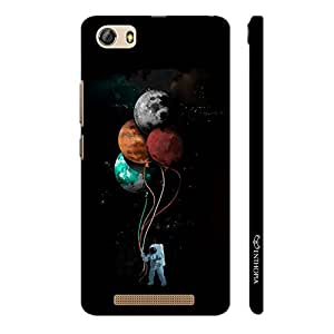 Enthopia Designer Hardshell Case Astronauts Toys Back Cover for Gionee Marathon M5 Lite