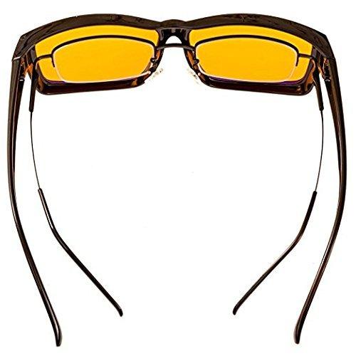 Cooler Leser (Swanwick Sleep UK - Blaues Licht blockierende Brille für erholsamen Schlaf – Computerspiele und Gamer Brille und Computer Brille für tiefen Schlaf und Verhinderung von Digitalem Augenstress)
