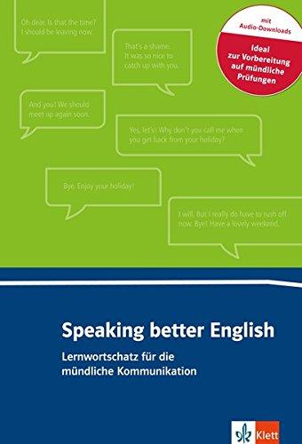 Speaking better English: Buch + Online-Angebot