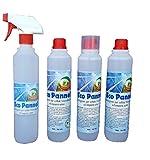 PiP Eco Pannel Detergente Ecologico Super Concentrato Conf.da 3 FL. ml.500 + Vapo e Misurino, Pari a 300 Litri di Prodotto Pronto all'Uso.