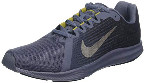 Nike Downshifter 8, Scarpe Running Uomo, Multicolore (Light Carbon/Mtlc Pewter/Peat Moss/Black 011), 44 EU