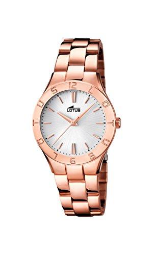 Lotus  0 - Reloj de cuarzo para mujer, con correa...