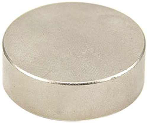 Magnet Expert® F3010SC-1 30mm de diamètre x 10mm d'épaisseur-Aimant Cobalt samarium-13,9 kg d'attraction (Pack de 1), Argent