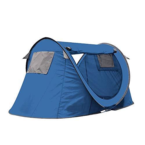 Dapengzhanchi Automatisches Zelt im Freien 2 Personen doppelt einzelnes Park am Meer Familienpaar Strandzelt (Color : Green, Size : A)