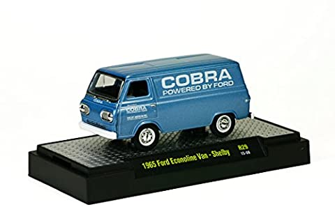 1965 FORD ECONOLINE VAN / SHELBY COBRA * M2 Machines Detroit Muscle Series Release 29 * 2015 Castline 1:64 Scale Die-Cast Vehicle (R29 15-08) by Detroit MUscle