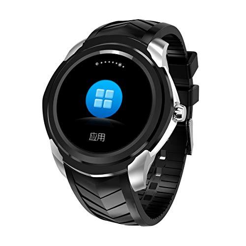 Reloj Inteligente, teléfono Bluetooth con Reloj Inteligente, Pantalla  táctil a Color IPS de 1,3 Pulgadas, Ranura para Tarjeta SIM, Monitor de  Ritmo