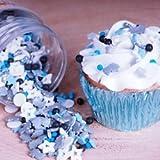 Mélange de confettis en sucre Galaxy FunCakes