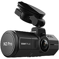 """Vantrue N2 Pro Caméra Dual Dash 1920x1080P Caméra Dash Avant et Arrière (2.5K 1440P Single Front Recording) Caméra Dashboard 1.5 """"310 ° Pour Voiture avec 4 Lumières IR HDR Night Vision, Sony Capteur, Mode Parking, Détection de Mouvement, Enregistrement Audio"""
