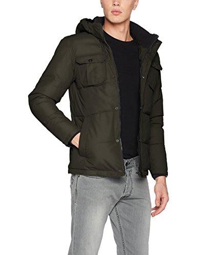 JACK & JONES Jcowill Jacket, Chaqueta para Hombre, Verde (Rosin Fit:One), X-Large