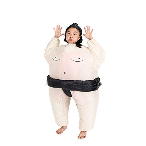 NiSeng Karnevalskostüme Kinder Aufblasbares Kostüm Halloween Blow Up Fat Suit Faschingskostüme (Suit Halloween Fat Kostüme)