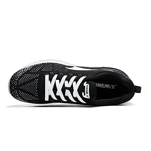 Gym de Homme Music Femme Respirante Chaussures Mixte Course Sneakers Adulte 1st ONEMIX Air Rhythm Generation Noir blanc YqxvYw