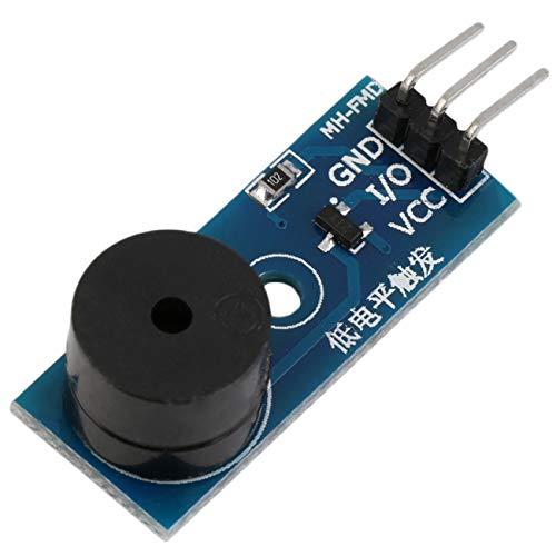 Elviray Aktiver Summer Alarm Modul Sensor Beep Audion Control Panel für Arduino Hohe Qualität Auf Lager Super Deals Alarm Control Interface
