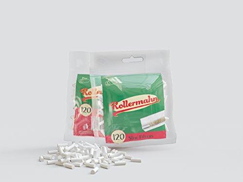 Rollermahn Smoking Safety Slim Filters 6MM X 15 MM Pack = (2)