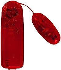 You2Toys Vibrating Bullet-  kleines Vibro-Ei für Frauen und Paare, Bullet Vibrator mit stufenloser Vibration, Stimulator für vaginale Massagen, rot