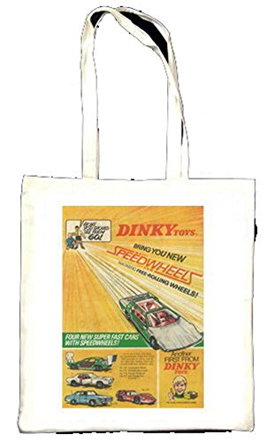 DINKY Toys vitesse Roues 1969 Totebag