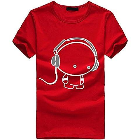 Beauté Top Les nouveaux hommes Boy T-shirts en coton à