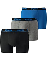 Puma Men's Cat Boxers (Pack of 3)