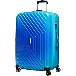 American Tourister Air Force 1 Spinner 76/28 Tsa Expansible Grad Maleta, 111 Litros, Color Azul (Gradient Blue)