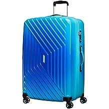 American Tourister Air Force 1 Spinner 76/28 Tsa Expansible Grad Maleta, 111 Litros, Color Azul