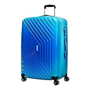2 Compartments Wheeled Duffle 55//20 Bolsa de Viaje Grey//Turquoise 40 Liters Gris 55 cm AMERICAN TOURISTER Road Quest
