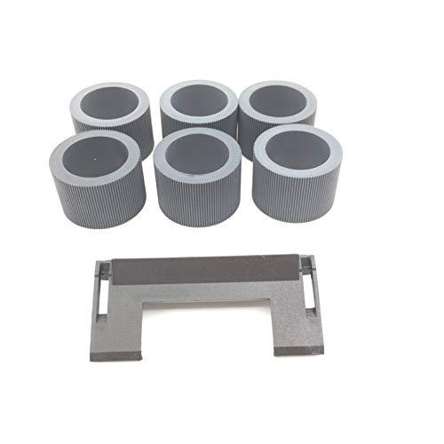 OKLI 30PCX 148-4864 1484864 Pickup Feed Roller Reifen + 5PC X 1736115 Trennpad Assy für Kodak i1200 i1300 i1210 i1220 i1310 i1320 i2400 i2600 i2800 ss500 ss520 - Feed Pickup Roller