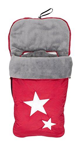 Alondra 643D-403 - Saco para silla de bebé universal, impermeable, bordado, color rojo