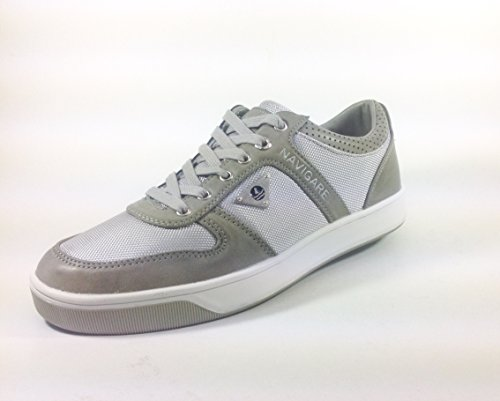 Homme casual/loisirs chaussures en cuir et naviguer 8786 nylon Multicolore - GRIGIO MILITARE