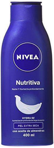 Body milk nivea - Nutritiva 400ml.