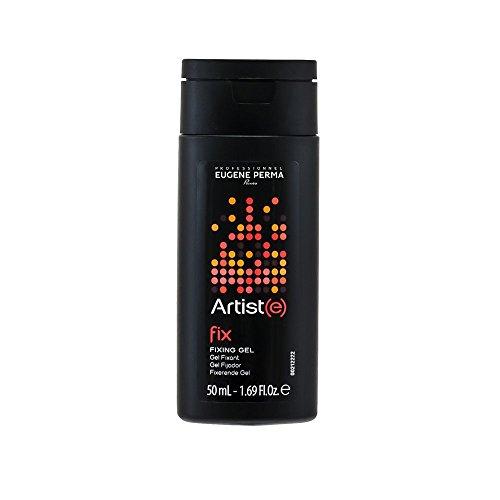 EUGENE PERMA Professionnel Le Fixing Gel Artist(e) Gel de Coiffage à Fixation Extra-Forte Format Voyage 50 ml - Lot de 3