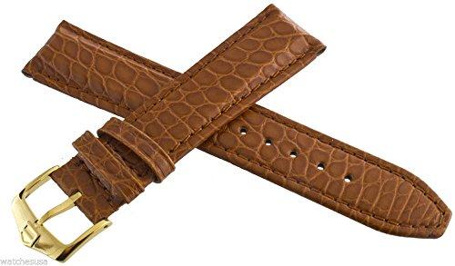 Tag Heuer Uhrenarmband Leder braun 18 mm