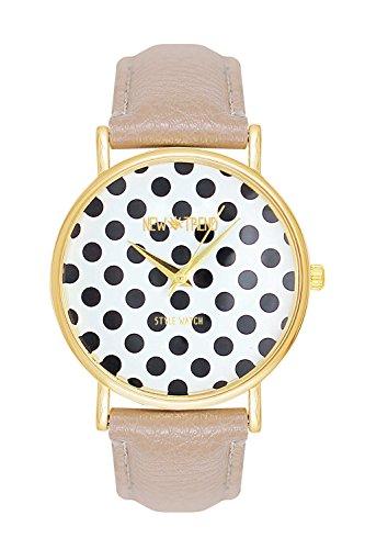 reloj-de-pulsera-para-mujer-diseno-de-lunares-estilo-rockabilly-color-beis-y-dorado