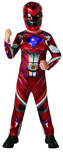 Rubies 3630710 - Red Power Rangers 2017 Classic, Action Dress Ups und Zubehör, L