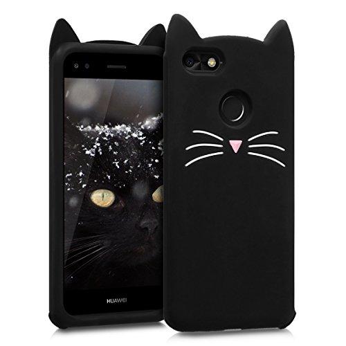 kwmobile Huawei Y6 Pro (2017) / Enjoy 7 Hülle - Handyhülle für Huawei Y6 Pro (2017) / Enjoy 7 - Handy Case Cover Silikon Schutzhülle