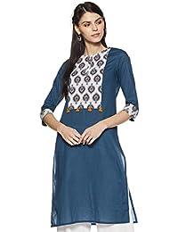 Amazon Brand - Myx Women's Straight Kurta