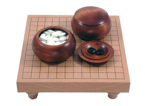 Go-Spiel: 13x13-Tisch-Set, dunkel