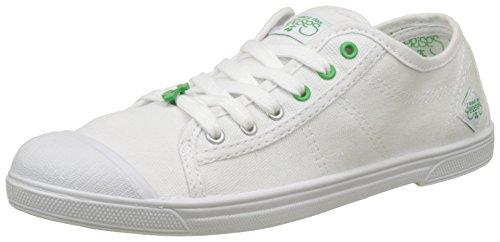 Le Temps des Cerises Damen Basic 02 Sport Flach Blanc (Sport Green)