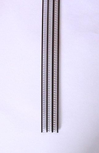 Cortina para puerta tiras pvc 210x90cm,Cortina para puerta exterior,12 COLOR (Transparente+Filo Negro)