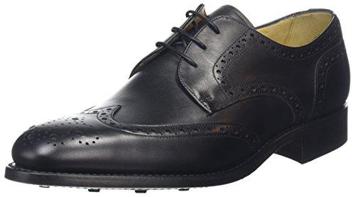 Barker Longworth, Derbys Homme Black (Black Calf)