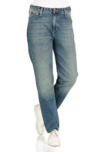 Lee Damen Jeans Mom - Straight Fit - Blau - Dusk Vintage, Größe:W 31 L 33, Farbe:Dusk Vintage (at)