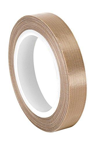 tapecase-0875-36-sg05-03-marron-fibre-de-verre-impregne-de-ptfe-ruban-adhesif-en-tissu-100-a-500-f-p