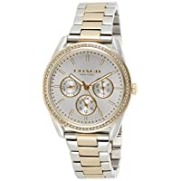 Coach Womens Quartz Watch, Chronograph Display and Stainless Steel Strap 14503268