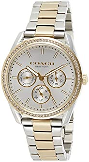 Coach Womens Quartz Wrist Watch, Chronograph and Stainless Steel- 14503268