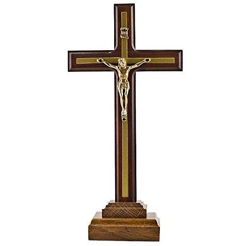 BestPysanky 25,4cm geschnitzt Ukrainische Holz stehend Kruzifix