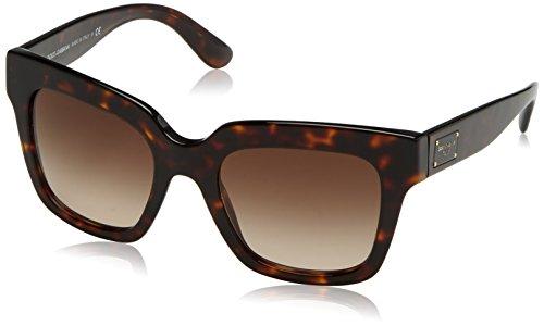 Dolce & gabbana 0dg4286 occhiali da sole, marrone (havana/browngradient), 51 donna