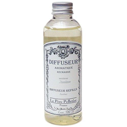 Le Père Pelletier LPP : Recharge pour Diffuseur de Parfum d'Ambiance 100 ml (Figue Sous le Figuier)