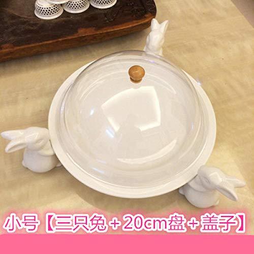 Frei Von Zucker-punsch (PORCN Keramik hohe Kuchen Rack Keramik hohe Kuchen Rack kreative europäischen Wohnzimmer große Obstschale Gebäck Tablett Taiwan Zucker @G)