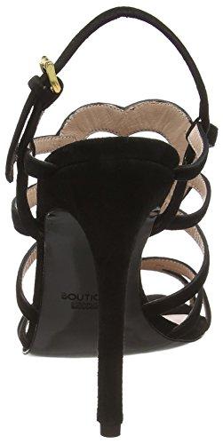 Boutique Moschino 6310 8006 None, Sandales  Bout ouvert femme Noir (noir)