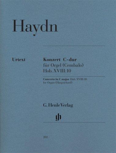 Concerto Orgue et Cordes Hob.XVIII:10 Do Majeur ---  Orgue (+Intrument à cordes en Ut)
